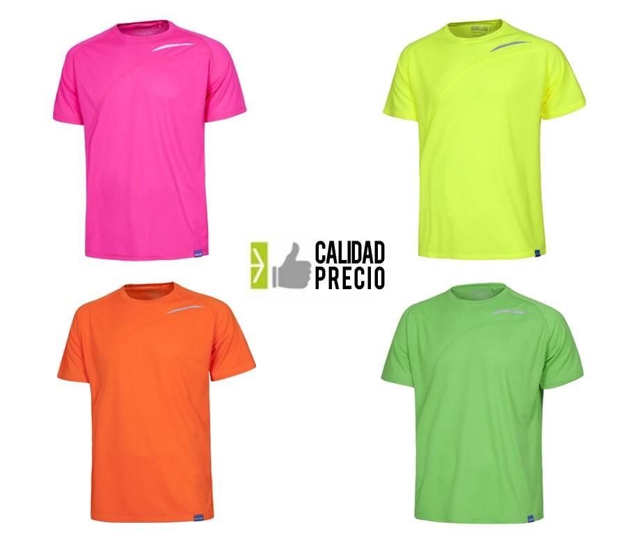 Camiseta técnica flúor S6610 por 4,95€